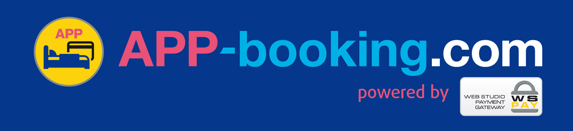 APP-booking.com powered by WSpay™